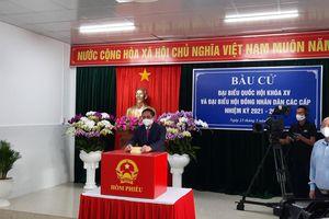 Thủ tướng Chính phủ Phạm Minh Chính bầu cử tại thành phố Cần Thơ