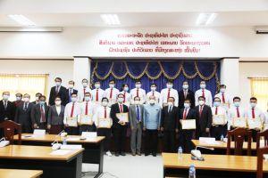 Chính phủ Lào đánh giá cao đoàn chuyên gia y tế Việt Nam giúp chống dịch Covid-19