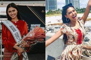 Hoa hậu Myanmar lộ diện sau Miss Universe, thần thái ra sao giữa tin đồn bị truy nã?