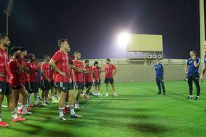 Các đối thủ của tuyển Việt Nam luyện quân ở UAE