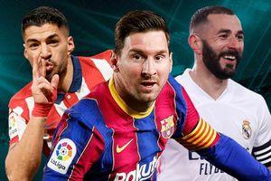 Messi áp đảo cuộc đua Vua phá lưới La Liga