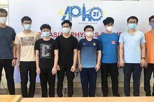Học sinh Việt Nam đạt điểm cao nhất Olympic Vật lý châu Á-TBD