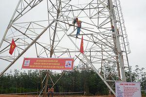 Dồn lực thi công dự án đường dây 500 kV mạch 3 đoạn Dốc Sỏi – Pleiku 2