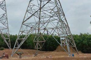 Tiến độ đường dây 500 kV mạch 3: Mới xong mặt bằng đoạn Dốc Sỏi - Pleiku 2