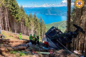 Cáp treo rơi ngay khi gần đến đích, 9 người xấu số thiệt mạng