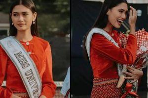 Hoa hậu Myanmar báo tin mừng sau tin đồn bị truy nã khẩn cấp