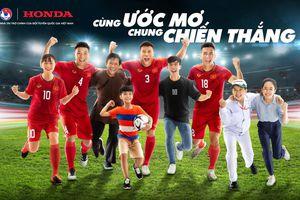 Honda Việt Nam tiếp tục đồng hành cùng các Đội tuyển Bóng đá Quốc gia Việt Nam