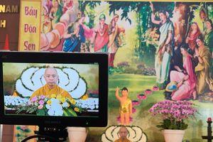 Nghe thuyết giảng online trong Tuần lễ Phật đản Phật lịch 2565 (2021)