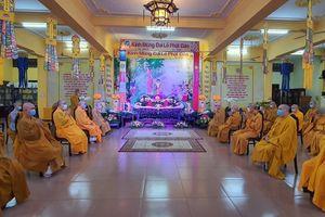 TP.HCM: Phật giáo quận Tân Bình tổ chức Phật đản nội bộ, trao quyết định nhân sự