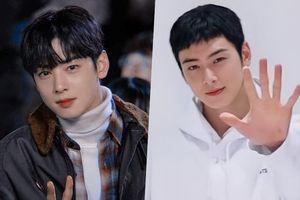 Cha Eun Woo cạo đầu đóng lính hải quân, dân tình sửng sốt: 'Tóc này mà anh vẫn đẹp, xin thua!'