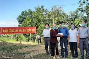 Lâm Đồng: Xây nhà đại đoàn kết cho hộ nghèo