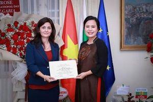 Biểu tượng kết nối Việt Nam - Bulgaria