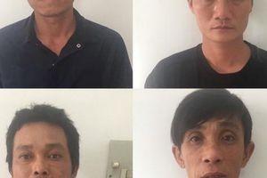 Bắt quả tang nhóm người lén lút trong kho dự án hóa dầu Long Sơn lúc giữa đêm