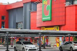 Cảnh Big C Thăng Long 'cửa đóng then cài' sau khi ca dương tính SARS-CoV-2 vào mua hàng