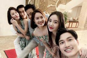 Loạt ảnh Việt Anh ôm chặt Lương Thu Trang gây 'bão' mạng