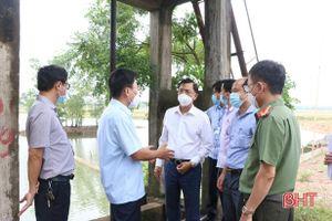TP Hà Tĩnh chủ động phương án ứng phó với thiên tai