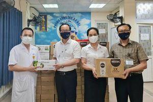 Nestlé Việt Nam hỗ trợ lực lượng tuyến đầu chống dịch Covid-19