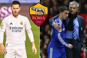 HLV Mourinho gây sốc, lôi kéo Hazard sang AS Roma
