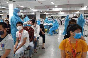 Bắc Giang vẫn còn hơn 50.000 mẫu nguy cơ cao chưa xét nghiệm COVID-19