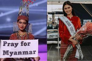 Bác tin đồn bị truy nã, Hoa hậu Hoàn vũ Myanmar ở lại Mỹ với tư cách dân tị nạn