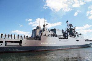 Chiến hạm Nga diễn tập bắn tên lửa ở Biển Đen