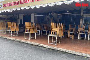 Các quán ăn, cà phê ở TP Hồ Chí Minh ngưng phục vụ tại chỗ, chỉ bán mang đi