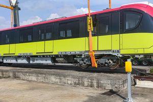 Đoàn tàu thứ 5 của tuyến Metro Nhổn-ga Hà Nội đã về đến Việt Nam