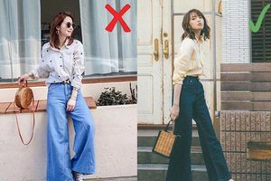 Hội BTV chỉ ra những kiểu giày diện cùng quần jeans là dìm dáng, nàng nên ghi nhớ ngay và luôn