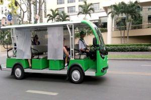 TP. HCM mở tuyết xe buýt điện ở Cần Giờ