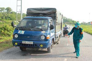 Bắc Giang yêu cầu vận chuyển hàng hóa phải bảo đảm phòng, chống dịch