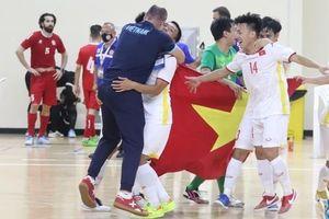 Đội tuyển futsal Việt Nam giành vé dự World Cup 2021