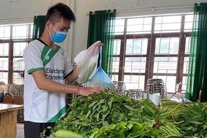 Giữa tâm dịch, người lao động Bắc Giang vững tin vì có 'Siêu thị 0 đồng'