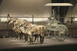 Cỗ xe ngựa hơn 2.000 năm tuổi trong lăng Tần Thủy Hoàng