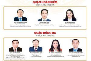 Danh sách 95 người trúng cử đại biểu HĐND TP Hà Nội khóa XVI, nhiệm kỳ 2021 - 2026