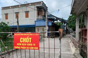 Nam Định gỡ bỏ phong tỏa xóm Trại, huyện Trực Ninh