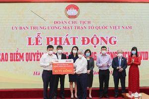 TNG Holdings VietNam và ngân hàng MSB ủng hộ 10 tỷ đồng cho phòng, chống dịch COVID -19