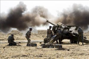 Ukraine tập trận quân sự