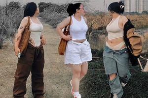 Nặng gần 80kg, cô nàng 10X phối đồ khiến ai nấy 'tâm phục khẩu phục'