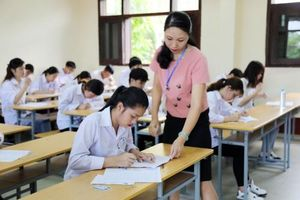 Giảng viên, cán bộ các trường ĐH sẽ tham gia công tác thanh, kiểm tra tại kỳ thi tốt nghiệp THPT