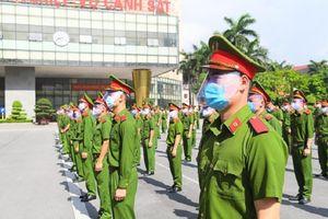 Bộ Công an huy động 400 cảnh sát chi viện Bắc Ninh chống dịch