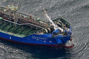 Đâm tàu hóa chất nước ngoài, tàu hàng Nhật hơn 11.000 tấn chìm