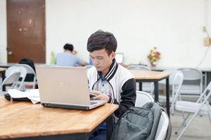Lãnh đạo trường gửi thư khi sinh viên lần đầu thi online