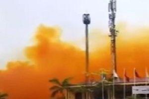 Đề xuất kiểm tra công ty để xảy ra tình trạng khói vàng bao phủ một phần KCN
