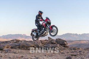 Honda Việt Nam ra mắt mẫu mô tô địa hình hoàn toàn mới Africa Twin