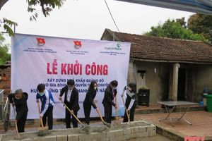 Đẩy mạnh xây dựng ngôi nhà Khăn quàng đỏ cho học sinh nghèo ở Hậu Lộc