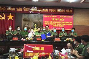 Công an TP Cần Thơ và Bộ Tư lệnh Cảnh vệ ký kết Quy chế phối hợp