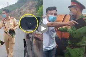 Công an huyện Vân Đồn nói gì về thông tin CSGT đập vỡ gương xe người vi phạm?