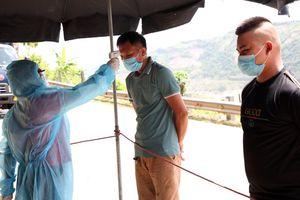 Lai Châu kiểm soát chặt người về từ vùng dịch