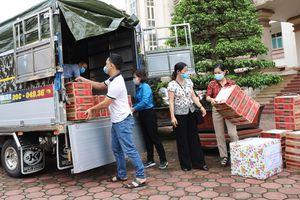 Các trường học Thái Nguyên chung tay hỗ trợ vùng dịch