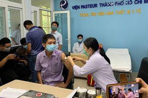 64.272 liều vaccine COVID-19 đã được tiêm cho đội ngũ chống dịch tại TP Hồ Chí Minh